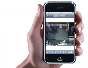 DVR iphone app